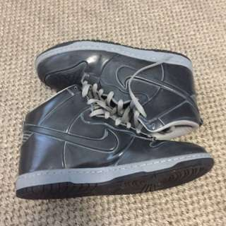 Nike Grey LIMITED EDITION High Tops