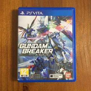 Psv Game Gundam breaker 1 日版