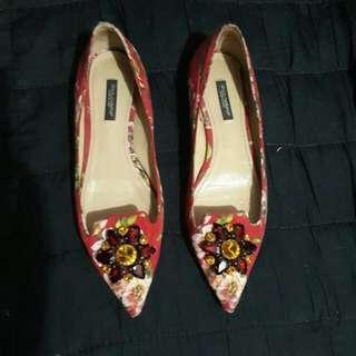 Original Dolce and Gabbana  D&G kitten heels