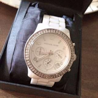 AUTHENTIC Womans MK Ceramics Watch