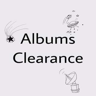 Albums Clearance~