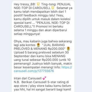 The Fifth😘💋TQ Carousell😊🙏😍