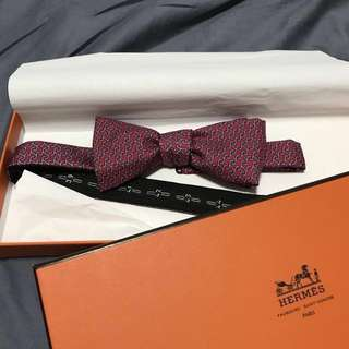 Hermès Bow Tie 。可綁手袋