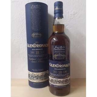 Glendronach 18 yo Single Malt Scotch Whisky 格蘭多納18年單一純麥威士忌