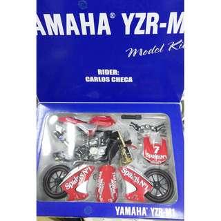 1比12 yamaha YZR M1 電單車 模型