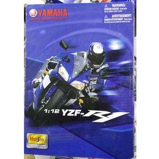 1比12 yamaha YZF R1 電單車 模型