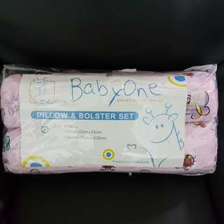 BNIP Baby One Pillow & Bolster Set (Price Revised)