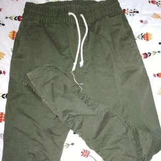 H&M fear of god zipper pants