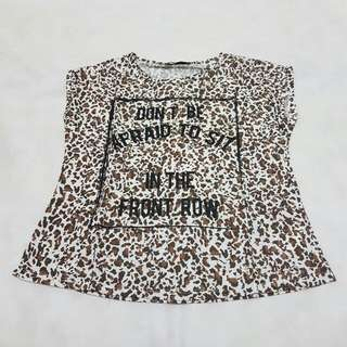 Pull & Bear Animal Print T-shirt