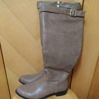 Barcisana boot 真皮長靴