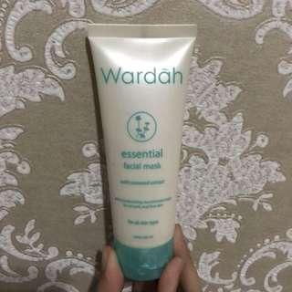 Wardah - Essential Facial Mask dan Essential Facial Wash