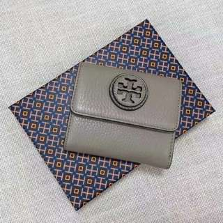 TORY BURCH LEATHER WALLET SMALL
