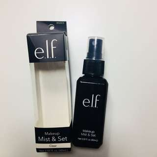 Elf e.l.f 定妝噴霧 setting spry