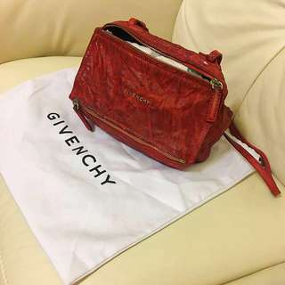 Givenchy mini pandora washed lamb skin