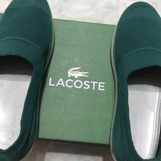 Original Lacoste Slip-on Shoes