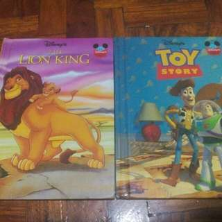 Preloved Lion King And Toy Story