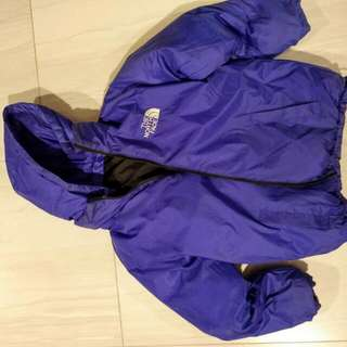 North Face Down Winter Jacket suitable for 5~10 years old.