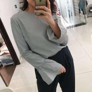Cara Stripe Blouse
