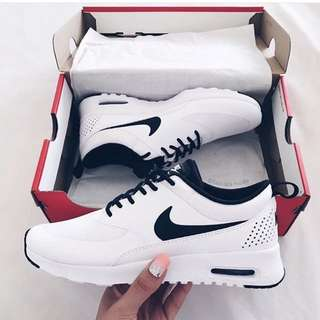 Nikes White and Black
