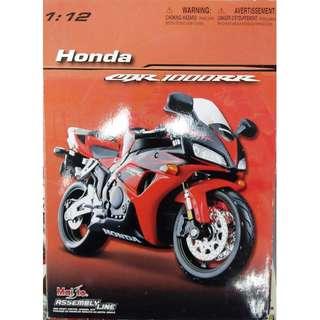 1:12 Honda CBR1000RR 電單車 模型