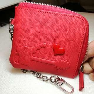 購自日本品牌PINKO帶鍊散子包