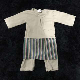 Baju Melayu for 6-9months baby boy