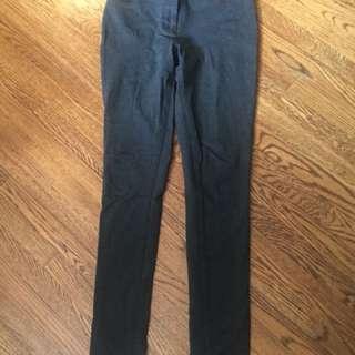 Babaton -aritzia gray stretch legging pants sz 4