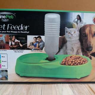 PET FEEDER FinePet Brand For Cats and Dogs