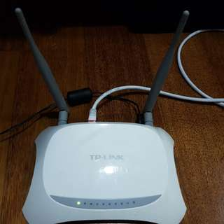 TPLINK MR3420 3G/4G broadband wireless N router