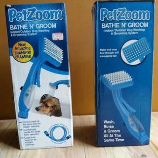 🔴Pet Zoom Bathe N' Groom Indoor/ Outdoor Dog Washer and Grooming System🔴