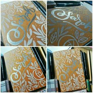 Handmade Calligraphy Artworks for Souvenirs, Gifts & Home Decor