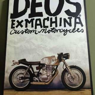 Deus-ex machina wall poster