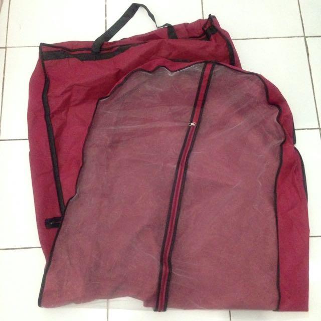 2pcs gown anti dust bag, gaun tas anti debu