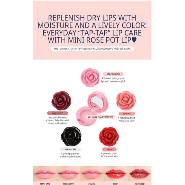 3ce flower pot cheek and lip tint