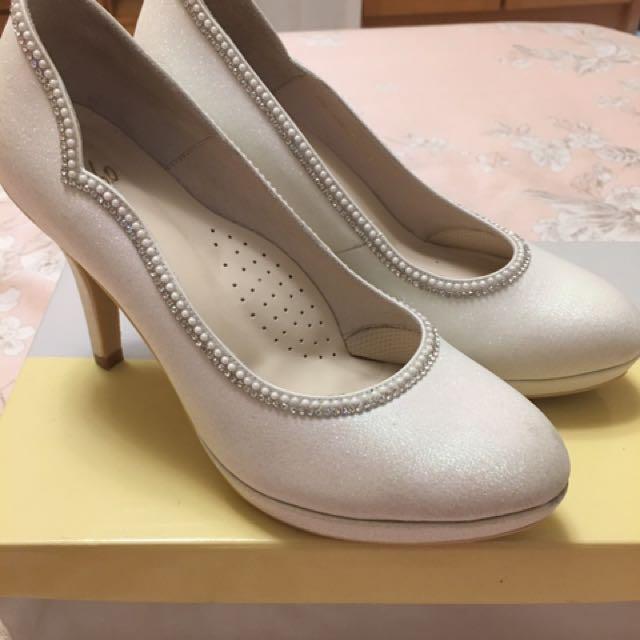 阿瘦皮鞋、婚禮當天、高根鞋