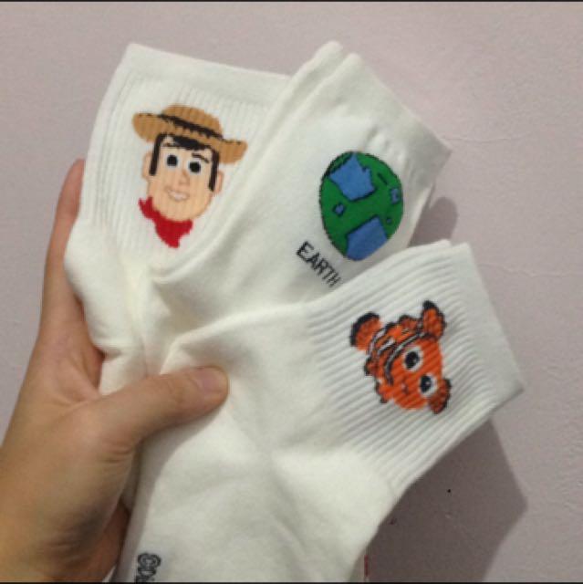 已降價 迪士尼 長襪 襪子
