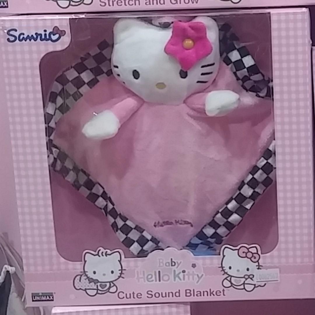 正版三麗鷗 Hello kitty系列 嬰幼兒益智成長玩具 安撫巾