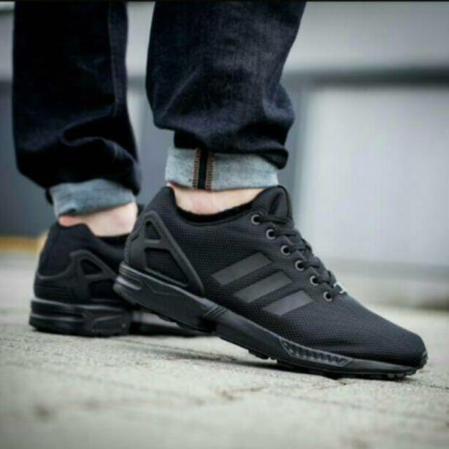 Adidas ZX Flux Full Black Size 7 8a2753b28