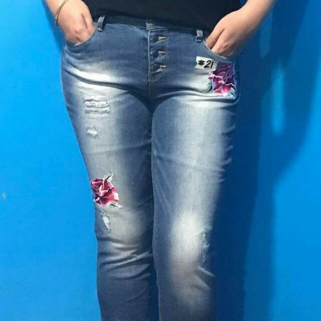 Affordable Pluz Size Skinny jeans
