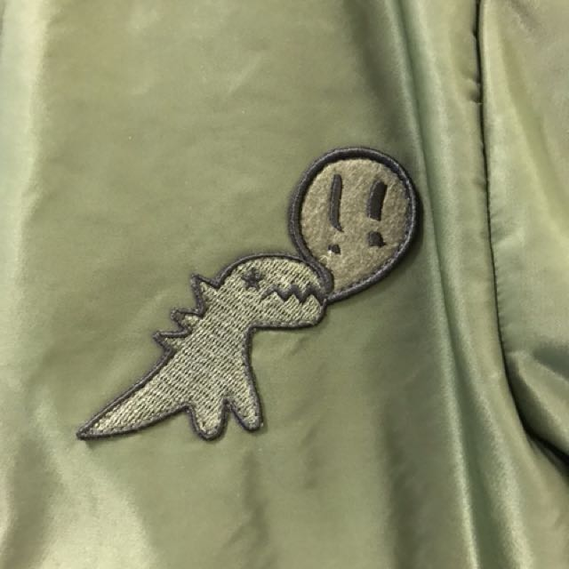 Agnes b.sport 恐龍logo外套