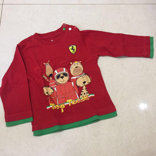 Authentic Ferrari t-shirt