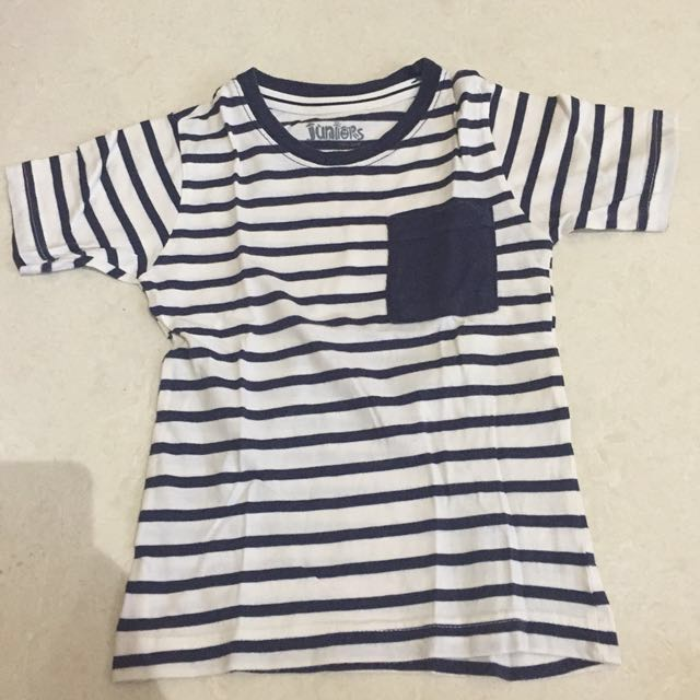 Authentic juniors stripe t-shirt