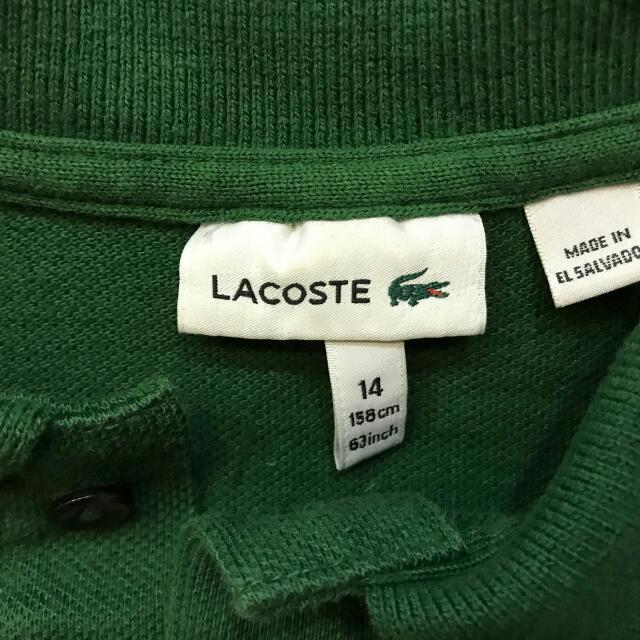 Authentic Lacoste Polo Tee