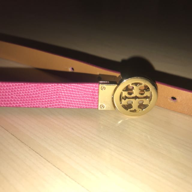 Authentic Tory Burch Pink Belt