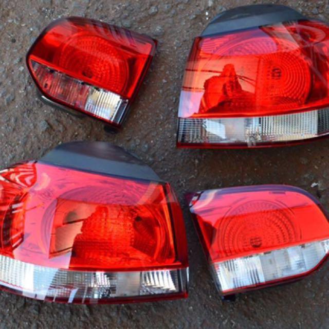 Authentic Volkswagen Golf MK6 Rear Lights (1 Pair)