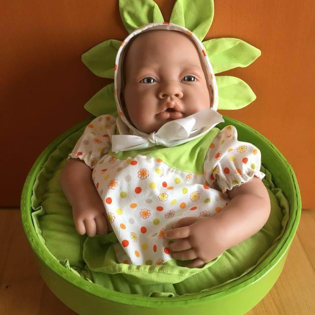 Baby Doll Reborn \'Flower in a Pot\', Babies & Kids, Toys & Walkers on ...