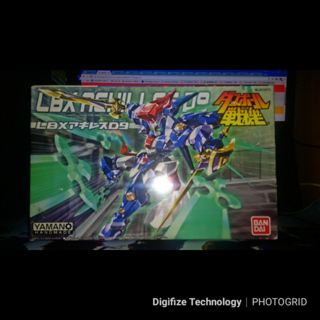 Bandai Lbx Achilles D9 Toys Games Other Toys On Carousell