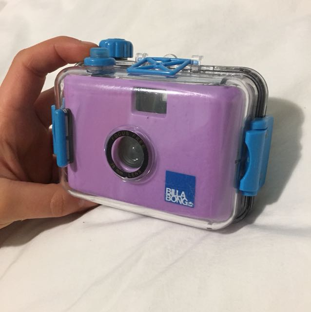 Billabong instant camera & waterproof case
