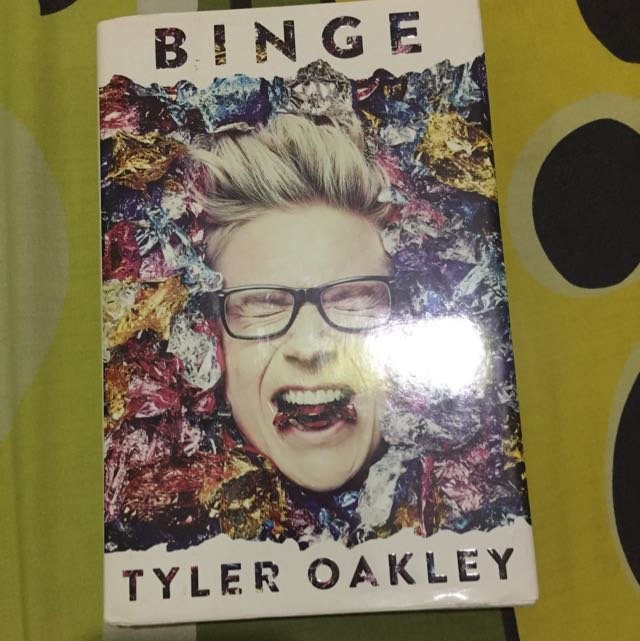 Binge by Tyler Oakley (HARD COVER)