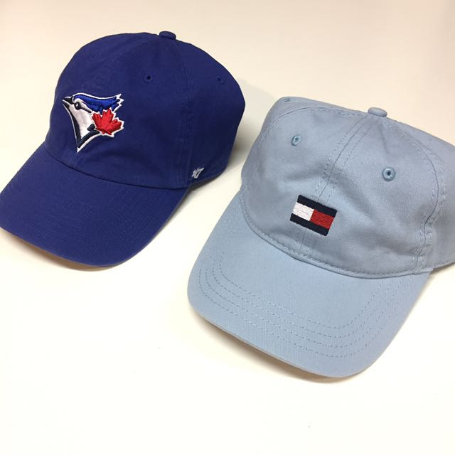 Blue jays and Tommy Hilfiger dad hats